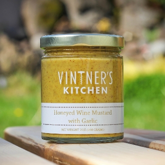 Honeyed Wine Mustard with Garlic