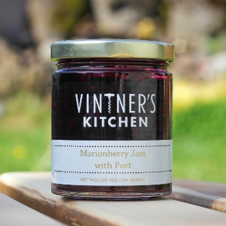 Marionberry Jam with Port
