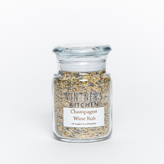 Champagne Wine Rub 3.5oz Jar