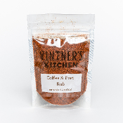 Coffee & Port Wine Rub 3.5oz Bag