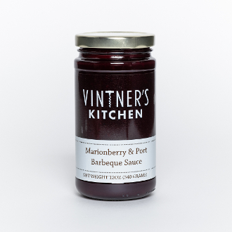 Marionberry & Port Barbecue Sauce