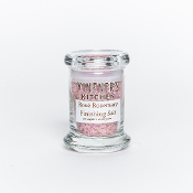 Rose Rosemary Finishing Salt 2.4oz Jar