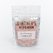 Rose Rosemary Finishing Salt 3.5oz Bag