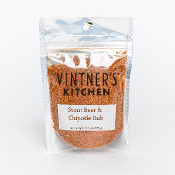 Stout Beer & Chipotle Wine Rub 3.5oz Bag