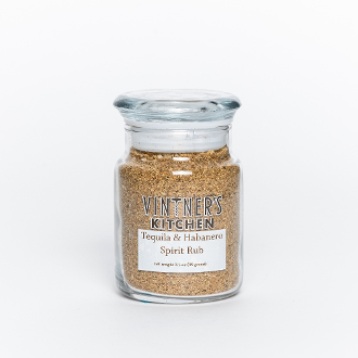 Tequila & Habanero Spirit Rub 3.5oz Jar